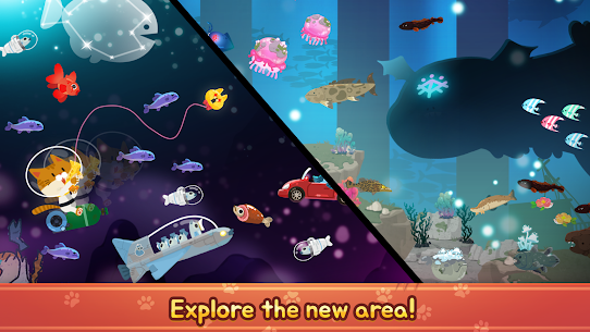 The Fishercat Mod Apk 4.1.2 (Lots of Gold Coins and Gears) 3