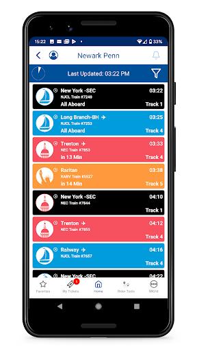NJ TRANSIT Mobile App android2mod screenshots 4