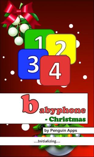 Baby Phone - Christmas Game screenshots 1