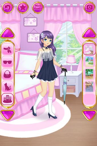 Anime Dress Up - Games For Girls 1.1.9 Screenshots 4