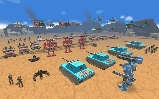 Army Battle Simulator modavailable screenshots 3