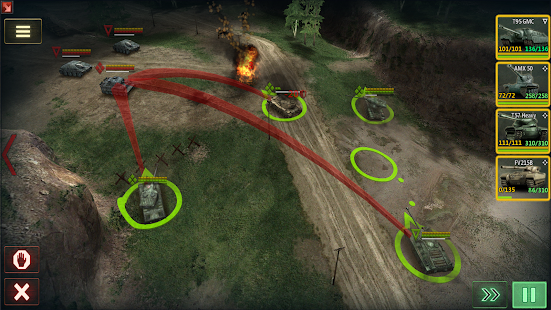 Armor Age: Tank Gamesud83dudca5 RTS War Machines Battle screenshots 21