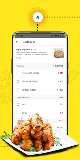 eFood - Express Food Delivery 1.6 screenshots 4