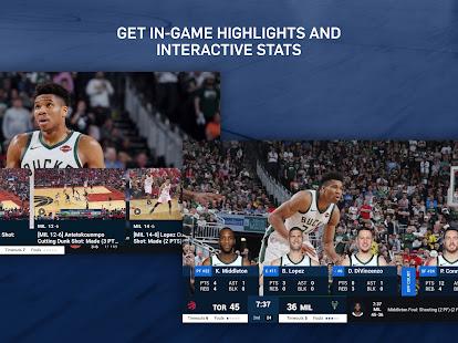 NBA: Live Games & Scores 11.0720 APK screenshots 9