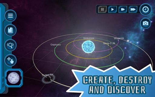 Pocket Galaxy - 3D Gravity Sandbox Space Game Free  Screenshots 7