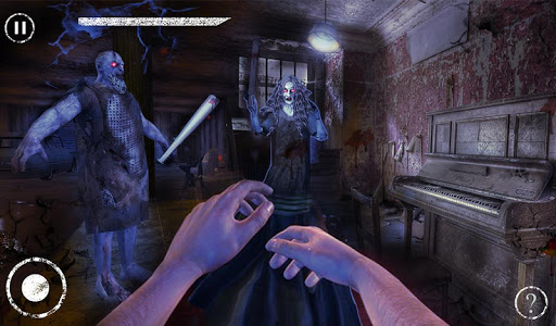 Haunted House Escape - Granny Ghost Games  screenshots 11