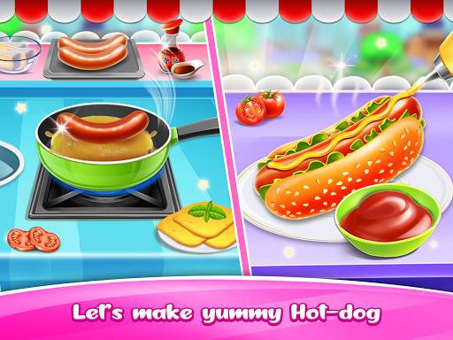 Hot dog Maker & Delivery game apkpoly screenshots 8