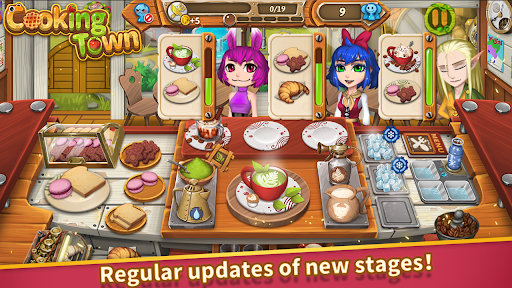 Cooking Town:Chef Restaurant Cooking Game apkpoly screenshots 11