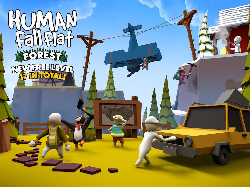Human: Fall Flat  poster 0