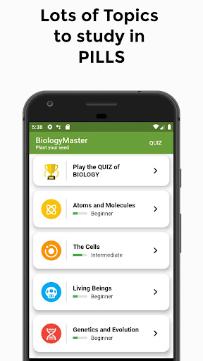 BiologyMaster - Biology for YOU modavailable screenshots 2