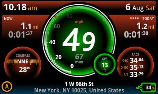Ulysse Speedometer Pro v1.9.91 Patched APK 5