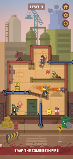 Zombie Escape: Pull the pins & save your friends!