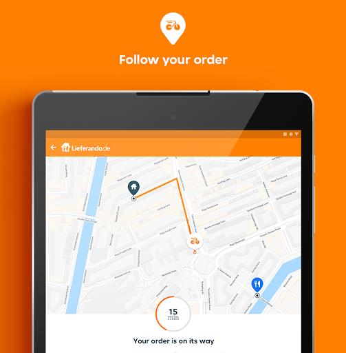 Lieferando.de - Order Food 6.25.0 Screenshots 10