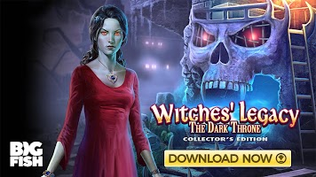 Hidden Objects - Witches' Legacy: The Dark Throne
