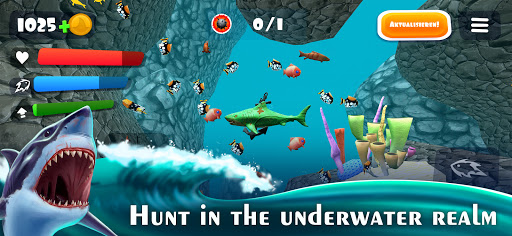 Hunting Shark Simulator - Hungry Fish Evolution  screenshots 2