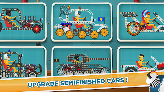 Free Car Builder and Racing Game for Kids 2