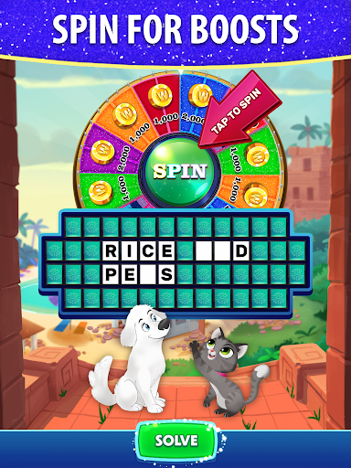 Bubble Pop: Wheel of Fortune! Puzzle Word Shooter  screenshots 16