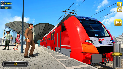 Train Driving Simulator 2020: New Train Games 2.5 screenshots 1