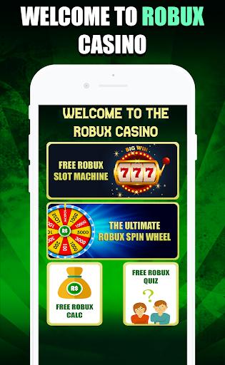 Robux Casino : Free Robux Slot Machine & RBX Wheel  Screenshots 1