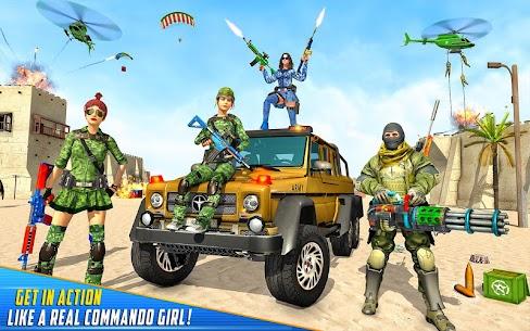 Real Commando Shooting Strike Mod Apk (God Mode/Dumb Enemy) 10