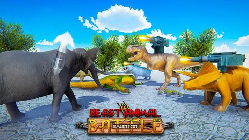 Beast Animals Kingdom Battle: Dinosaur Games 2.6 screenshots 16