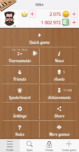 Backgammon Online 1.3.3 screenshots 5
