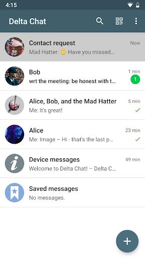 Delta Chat 1.14.4 Screenshots 5