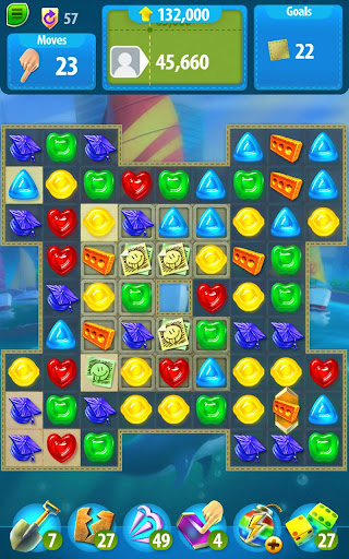 Gummy Drop! Match to restore and build cities  screenshots 6