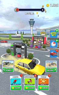 Idle Gas Station