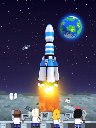 Rocket Star - Idle Space Factory Tycoon Game 1.45.0 screenshots 23