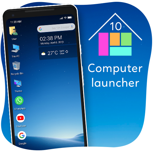 Baixar Computer Launcher – Win 10 Launcher, Win 10 Theme para Android