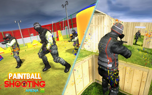 PaintBall Shooting Arena3D : Army StrikeTraining  screenshots 5