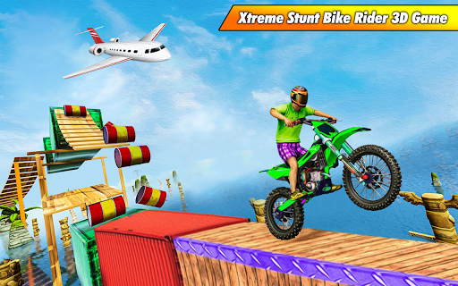 Bike Stunt Racing 3D - Free Games 2020 1.2 Screenshots 1