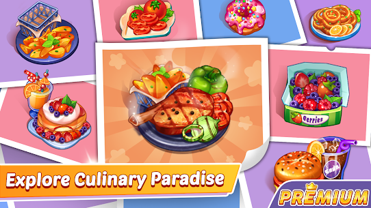Cooking Speedy Premium: Fever Chef Cooking Games 2