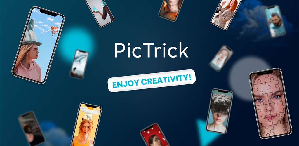 PicTrick – Creative photos in just 3 taps poster 0