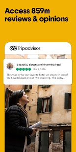 Tripadvisor Hotel, Flight & Restaurant Bookings Screenshot