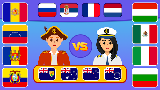 Flags of the World 2: Map - Geography Quiz 1.4.2 Screenshots 3