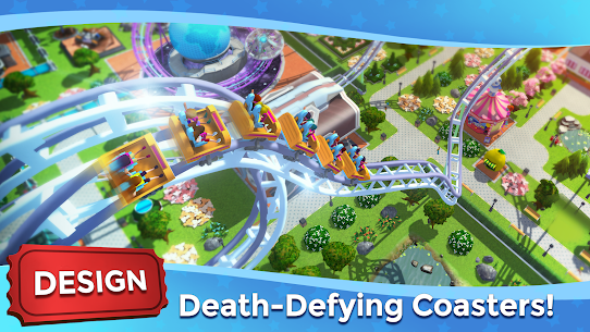 RollerCoaster Tycoon Touch Mod Apk (Unlimited Currencies) 10