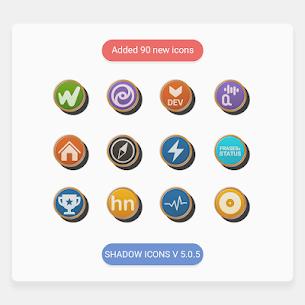 Shadows – Icon Pack v4.0.7 [Paid] 4