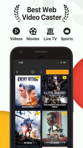iTVCast: Cast Web Videos to Chromecast Smart TV  screenshots 1