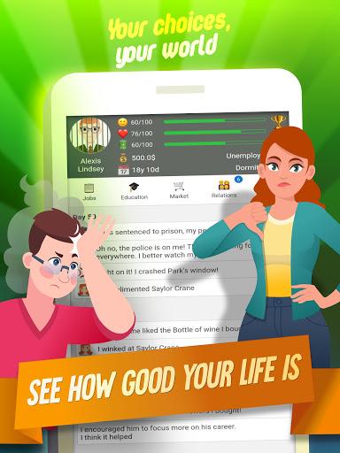 Life Simulator: Role Playing Apkfinish screenshots 14