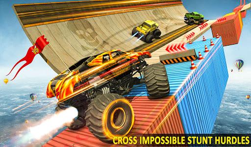 Ramp Monster Truck Stunts:New Racing Games 2.1 screenshots 8