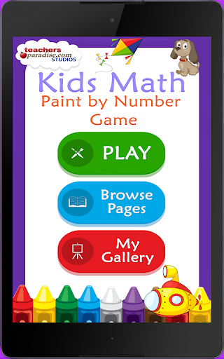 Kids Math Paint by Number Game 2 screenshots 9
