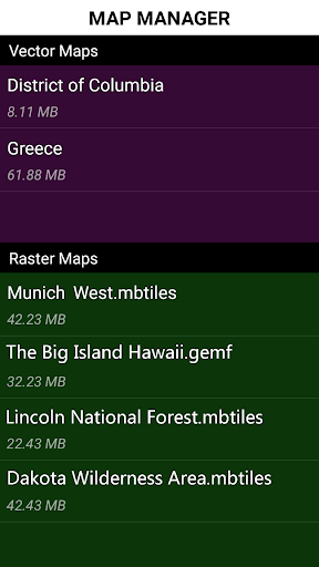Polaris GPS Navigation: Hiking, Marine, Offroad 9.16 Screenshots 16