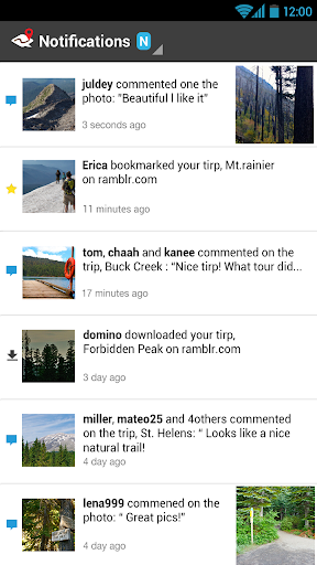 ramblr (hiking, gps, map) modavailable screenshots 5