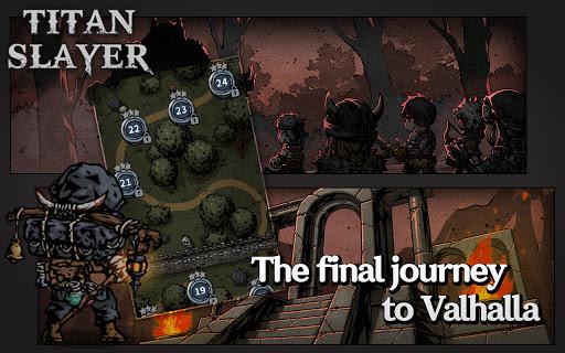 Titan Slayer: Roguelike Strategy Card Game apktram screenshots 2