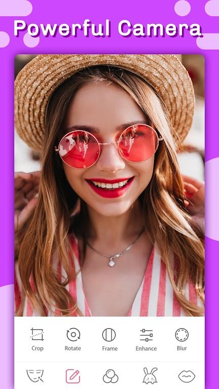 Candy selfie -beauty camera & photo editor pro  poster 4