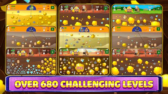 Gold Miner Classic: Gold Rush - Mine Mining Games 2.7.1 screenshots 2