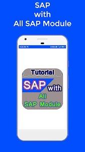 SAP with all SAP Module Tutorial 1.0