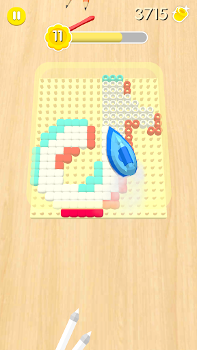 Bead Hama and Loom Pattern! Color and iron it  screenshots 3